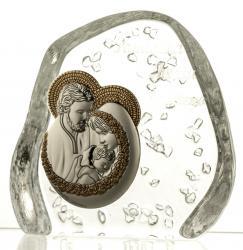 Skałka kryształowa Święta Rodzina (03833)