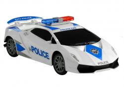 Samochód Policyjny 1:16 Dźwięki Światełka Friction