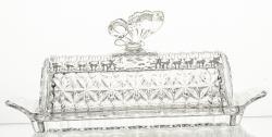 Meselnica kryształowa naczynie pojemnik (13644)