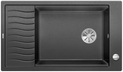 BLANCO ELON XL 8 S Silgranit PuraDur Antracyt odwracalny, korek auto., InFino, kratka ociekowa