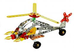 Klocki Konstrukcyjne Śmigłowiec Bojowy DIY 161 El