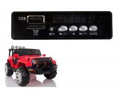 Panel muzyczny do auta na akumulator WXE1688