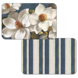 "Cala Home Podkładki na stół dwustronne C49712 ""Magnolias"""