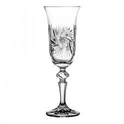 Kieliszki do szampana kryształowe 6 sztuk 3567