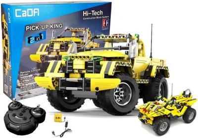 Auto Terenowe Pick-Up 2w1 Zdalnie Sterowany z klocków 2.4G 514 elementów C51003W